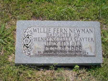 NEWMAN, WILLIE FERN - Union County, Arkansas | WILLIE FERN NEWMAN - Arkansas Gravestone Photos