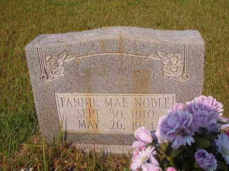 NOBLE, FANNIE MAE - Union County, Arkansas | FANNIE MAE NOBLE - Arkansas Gravestone Photos