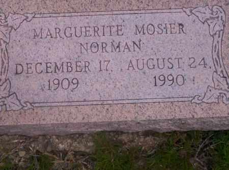 MOSIER NORMAN, MARGUERITE - Union County, Arkansas | MARGUERITE MOSIER NORMAN - Arkansas Gravestone Photos