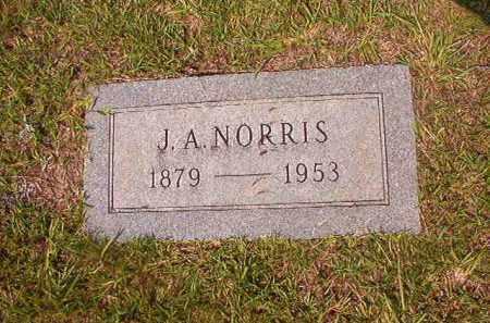 NORRIS, J A - Union County, Arkansas | J A NORRIS - Arkansas Gravestone Photos