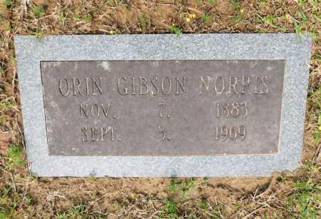 NORRIS, ORIN GIBSON - Union County, Arkansas   ORIN GIBSON NORRIS - Arkansas Gravestone Photos