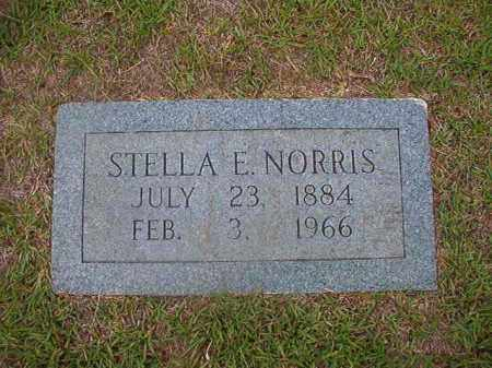 NORRIS, STELLA E - Union County, Arkansas | STELLA E NORRIS - Arkansas Gravestone Photos