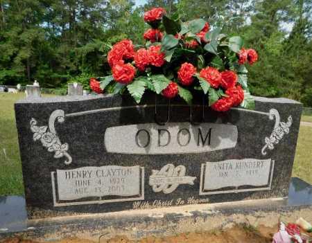 ODOM, HENRY CLAYTON - Union County, Arkansas | HENRY CLAYTON ODOM - Arkansas Gravestone Photos