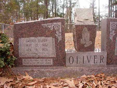 OLIVER, CARROL HARDY - Union County, Arkansas | CARROL HARDY OLIVER - Arkansas Gravestone Photos