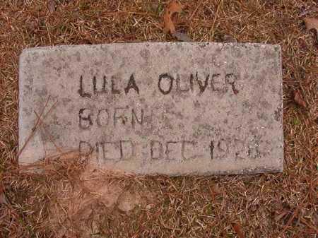 OLIVER, LULA - Union County, Arkansas   LULA OLIVER - Arkansas Gravestone Photos