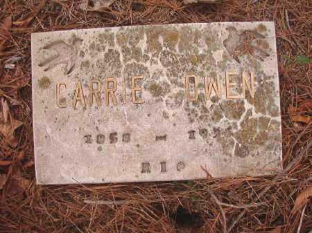 OWEN, CARRIE - Union County, Arkansas   CARRIE OWEN - Arkansas Gravestone Photos