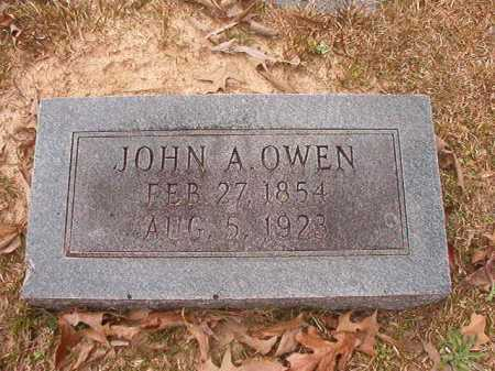 OWEN, JOHN A - Union County, Arkansas | JOHN A OWEN - Arkansas Gravestone Photos