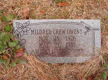 OWENS, MILDRED - Union County, Arkansas | MILDRED OWENS - Arkansas Gravestone Photos