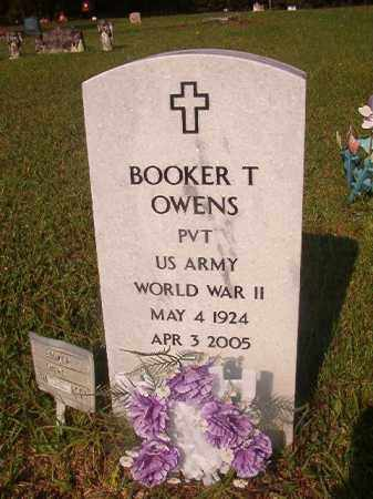 OWENS (VETERAN WWII), BOOKER T - Union County, Arkansas   BOOKER T OWENS (VETERAN WWII) - Arkansas Gravestone Photos