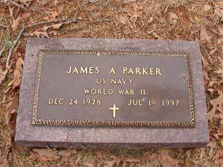PARKER (VETERAN WWII), JAMES A - Union County, Arkansas | JAMES A PARKER (VETERAN WWII) - Arkansas Gravestone Photos