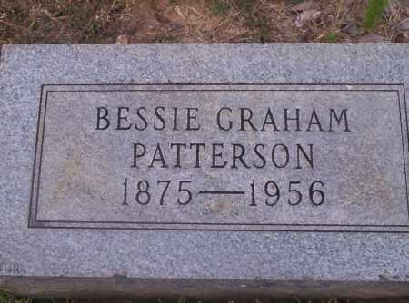 GRAHAM PATTERSON, BESSIE - Union County, Arkansas | BESSIE GRAHAM PATTERSON - Arkansas Gravestone Photos