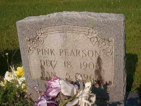 PEARSON, PINK - Union County, Arkansas | PINK PEARSON - Arkansas Gravestone Photos