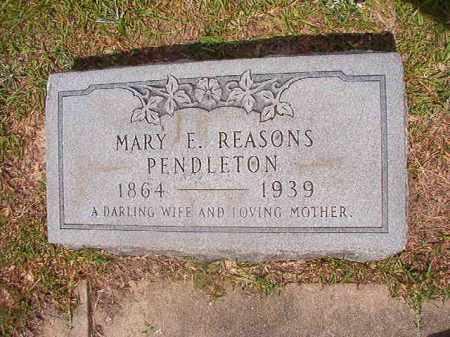 PENDLETON, MARY E - Union County, Arkansas | MARY E PENDLETON - Arkansas Gravestone Photos