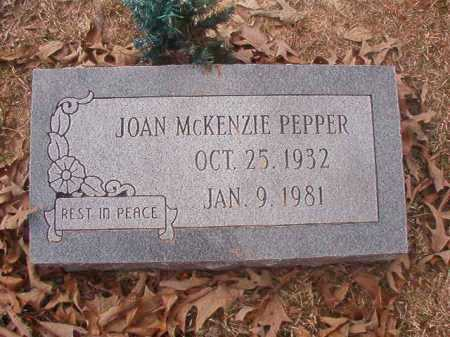 PEPPER, JOAN - Union County, Arkansas | JOAN PEPPER - Arkansas Gravestone Photos
