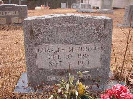 PERDUE, CHARLEY M - Union County, Arkansas   CHARLEY M PERDUE - Arkansas Gravestone Photos