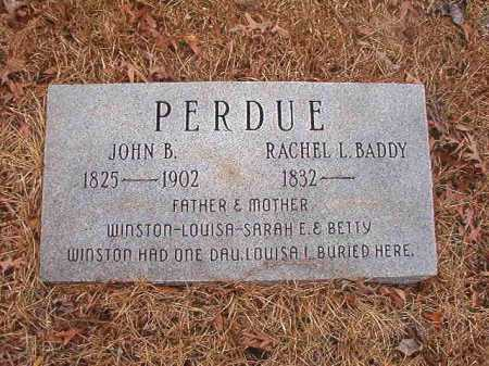 PERDUE, RACHEL L - Union County, Arkansas | RACHEL L PERDUE - Arkansas Gravestone Photos