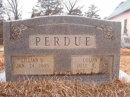 PERDUE, LILLIAN O - Union County, Arkansas | LILLIAN O PERDUE - Arkansas Gravestone Photos