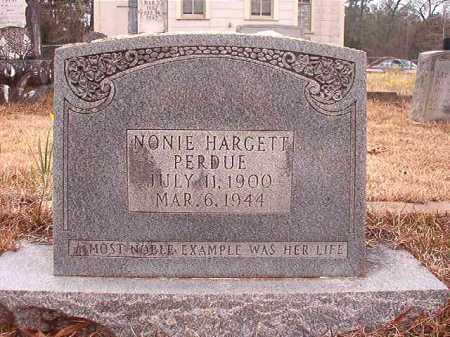 PERDUE, NONIE - Union County, Arkansas   NONIE PERDUE - Arkansas Gravestone Photos