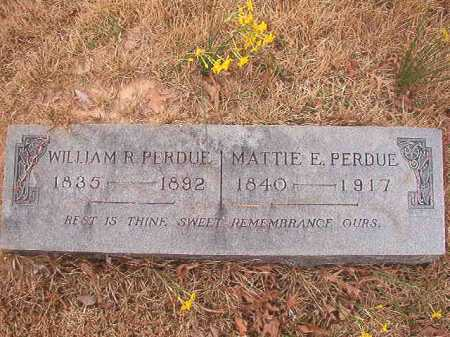PERDUE, MATTIE E - Union County, Arkansas | MATTIE E PERDUE - Arkansas Gravestone Photos
