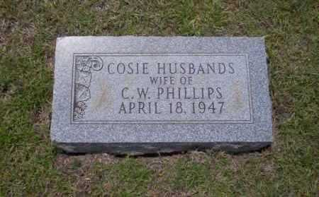 PHILLIPS, COSIE - Union County, Arkansas | COSIE PHILLIPS - Arkansas Gravestone Photos