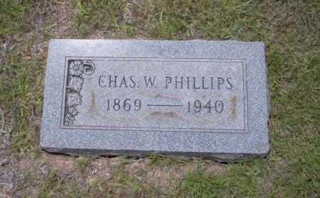 PHILLIPS, CHAS. W. - Union County, Arkansas | CHAS. W. PHILLIPS - Arkansas Gravestone Photos