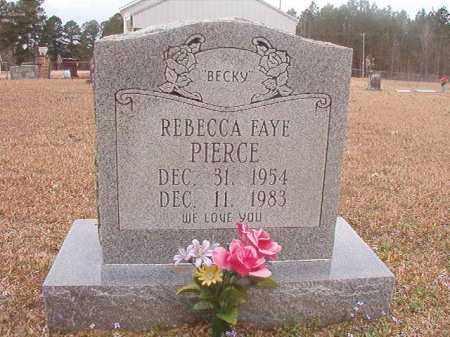PIERCE, REBECCA FAYE - Union County, Arkansas   REBECCA FAYE PIERCE - Arkansas Gravestone Photos