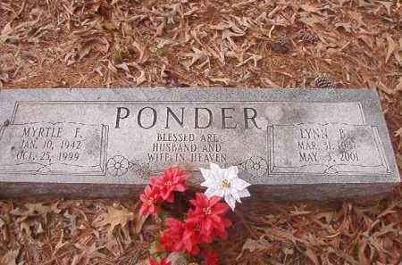 PONDER, LYNN B - Union County, Arkansas   LYNN B PONDER - Arkansas Gravestone Photos