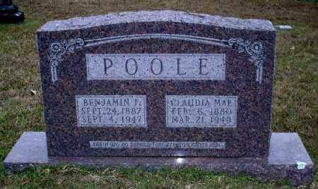 HENSON POOLE, CLAUDIA - Union County, Arkansas | CLAUDIA HENSON POOLE - Arkansas Gravestone Photos
