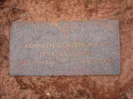 POOLE (VETERAN), KENNETH GORDON - Union County, Arkansas | KENNETH GORDON POOLE (VETERAN) - Arkansas Gravestone Photos
