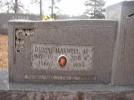 PRATT, JR, DUAINE MAXWELL - Union County, Arkansas   DUAINE MAXWELL PRATT, JR - Arkansas Gravestone Photos