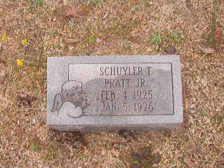 PRATT, JR, SCHUYLER T - Union County, Arkansas | SCHUYLER T PRATT, JR - Arkansas Gravestone Photos