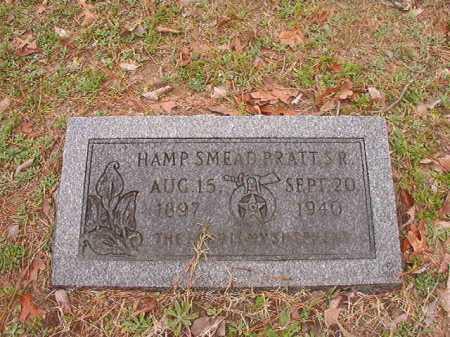 PRATT, SR, HAMP SMEAD - Union County, Arkansas | HAMP SMEAD PRATT, SR - Arkansas Gravestone Photos