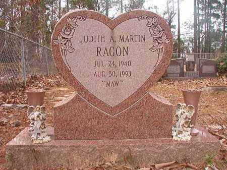 MARTIN RAGON, JUDITH A - Union County, Arkansas | JUDITH A MARTIN RAGON - Arkansas Gravestone Photos