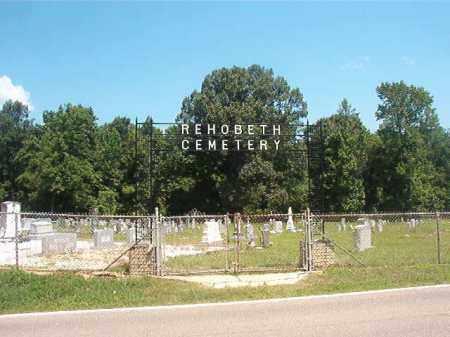 *REHOBETH, CEMETERY - Union County, Arkansas | CEMETERY *REHOBETH - Arkansas Gravestone Photos