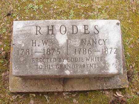 RHODES, H W - Union County, Arkansas | H W RHODES - Arkansas Gravestone Photos