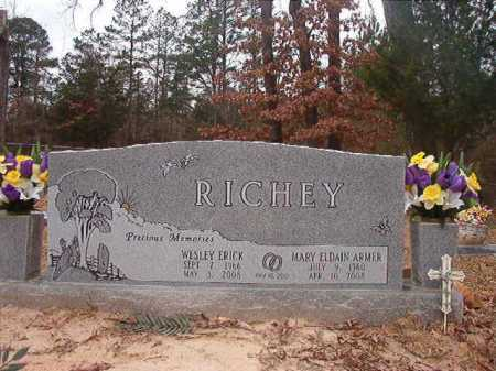 ARMER RICHEY, MARY ELDAIN - Union County, Arkansas | MARY ELDAIN ARMER RICHEY - Arkansas Gravestone Photos