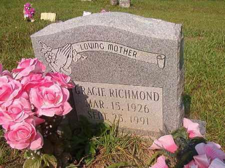 RICHMOND, GRACIE - Union County, Arkansas | GRACIE RICHMOND - Arkansas Gravestone Photos