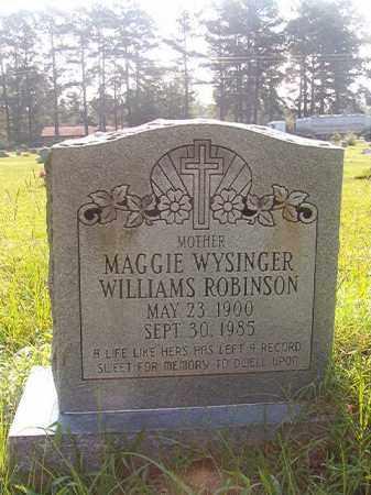 ROBINSON, MAGGIE - Union County, Arkansas | MAGGIE ROBINSON - Arkansas Gravestone Photos