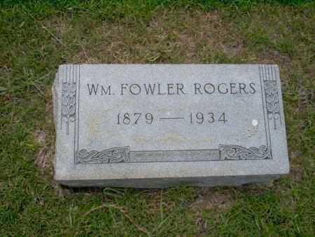 ROGERS, WM. FOWLER - Union County, Arkansas | WM. FOWLER ROGERS - Arkansas Gravestone Photos