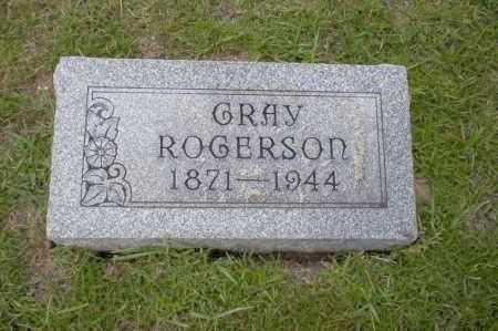 ROGERSON, GRAY - Union County, Arkansas | GRAY ROGERSON - Arkansas Gravestone Photos