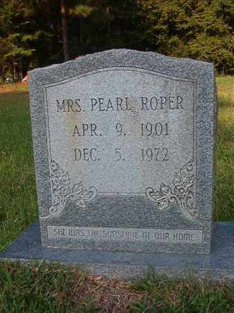 ROPER, PEARL - Union County, Arkansas   PEARL ROPER - Arkansas Gravestone Photos