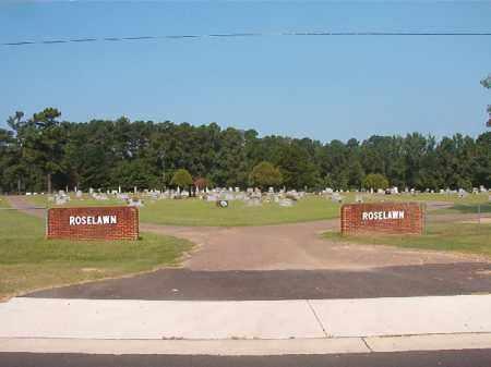 *ROSELAWN, CEMETERY - Union County, Arkansas   CEMETERY *ROSELAWN - Arkansas Gravestone Photos