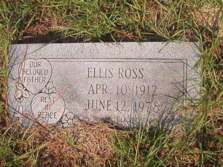 ROSS, ELLIS - Union County, Arkansas | ELLIS ROSS - Arkansas Gravestone Photos