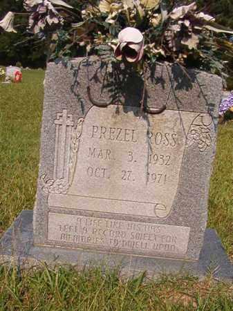 ROSS, PREZEL - Union County, Arkansas | PREZEL ROSS - Arkansas Gravestone Photos