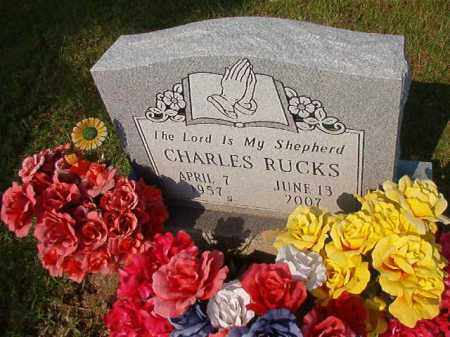 RUCKS, CHARLES - Union County, Arkansas | CHARLES RUCKS - Arkansas Gravestone Photos
