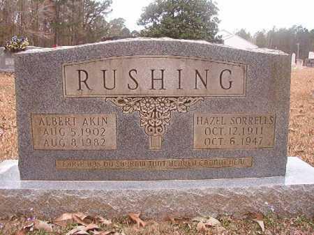 RUSHING, ALBERT AKIN - Union County, Arkansas | ALBERT AKIN RUSHING - Arkansas Gravestone Photos