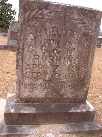RUSHING, DANIEL COLON - Union County, Arkansas | DANIEL COLON RUSHING - Arkansas Gravestone Photos