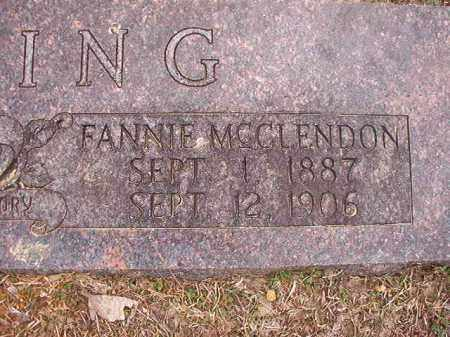 RUSHING, FANNIE - Union County, Arkansas | FANNIE RUSHING - Arkansas Gravestone Photos