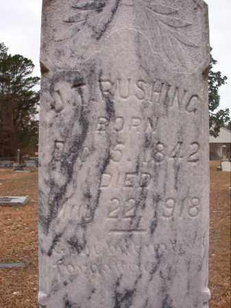 RUSHING, J T - Union County, Arkansas | J T RUSHING - Arkansas Gravestone Photos