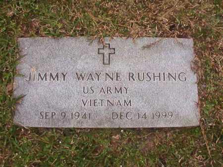 RUSHING (VETERAN VIET), JIMMY WAYNE - Union County, Arkansas | JIMMY WAYNE RUSHING (VETERAN VIET) - Arkansas Gravestone Photos